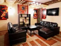Comfortable lounge with 40-inch LCD panel, satellite TV and karaoke, WI-FI zone with free internet access for visitors